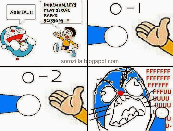 Doraemon's Nobita funny joke