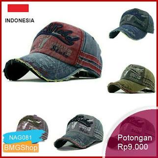 NAG081 Topi Pria Import Black Rebel Bordir Baseball Murah Bmgshop