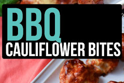 BBQ Cauliflower Bites