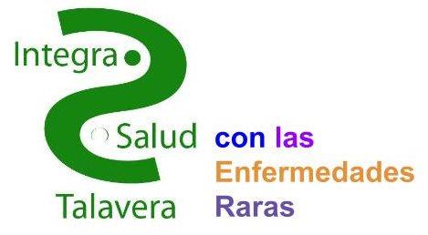 Logo Integra Salud Talavera con las Enfermedades Raras