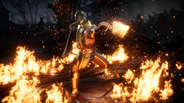 Scorpion en mortal kombat 11
