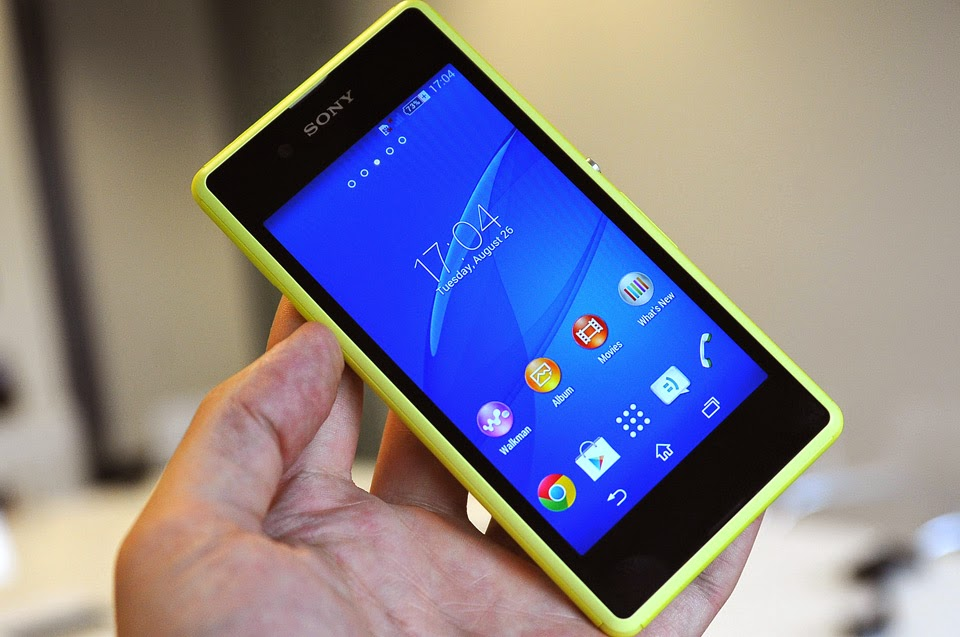 Specification of Sony Xperia E3