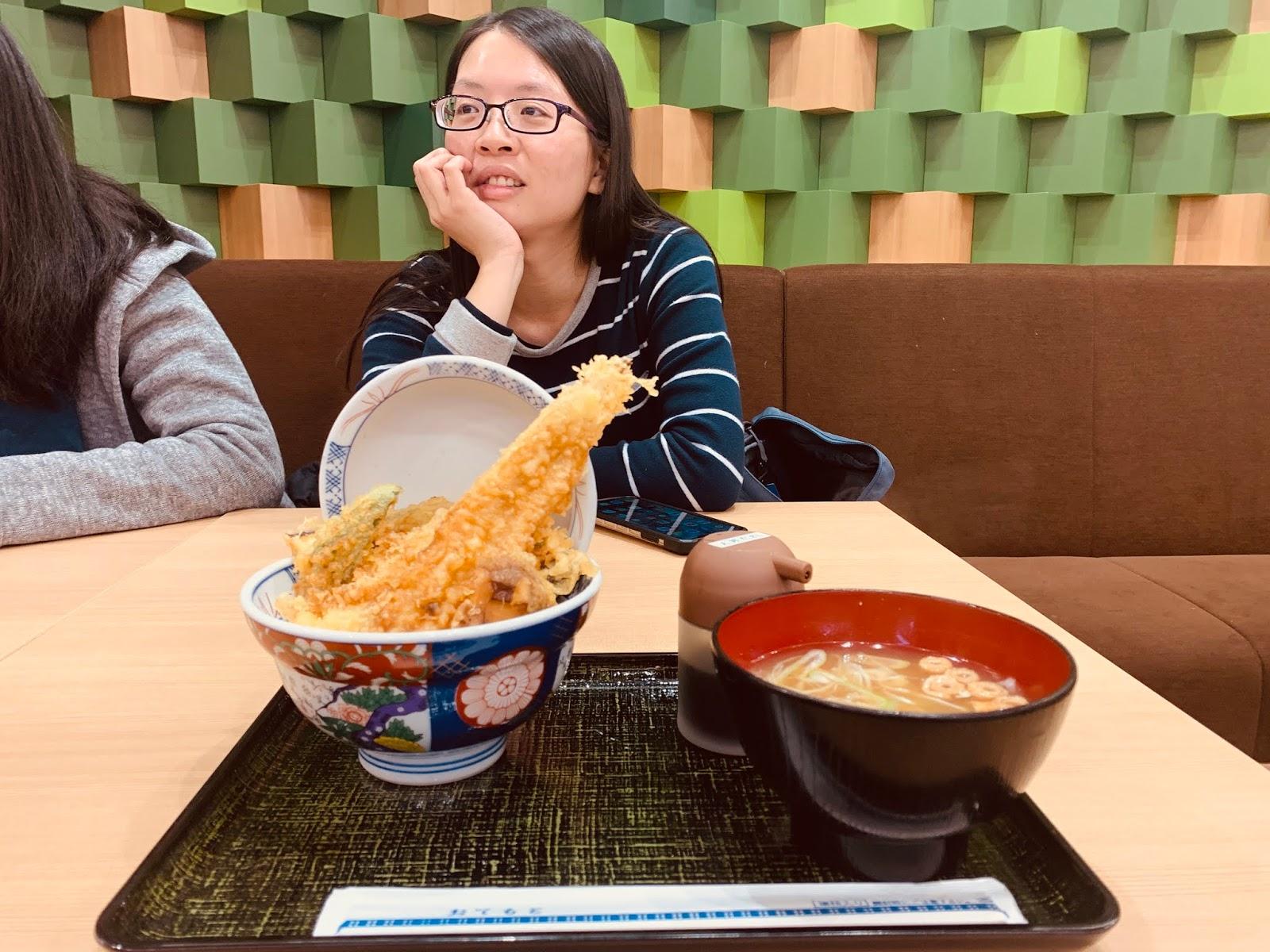 青森空港-天丼飯