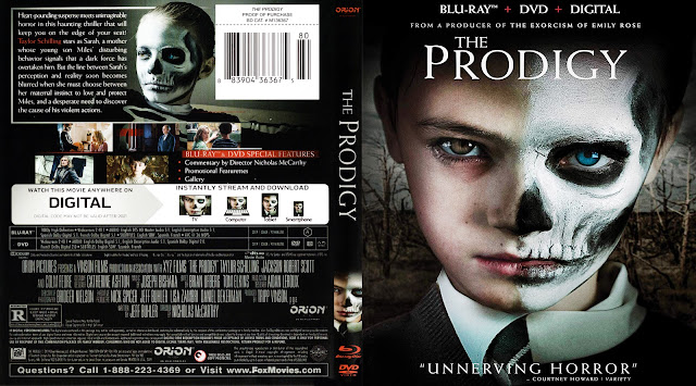 The Prodigy Bluray Cover Bluray Cover