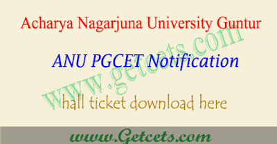 ANUPGCET hall ticket 2021 download, Results @anudoa.in