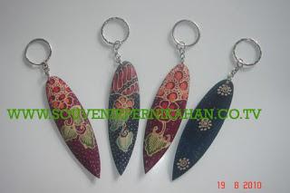 Souvenir Pernikahan Gantungan Kunci Batik Jogjakarta 2