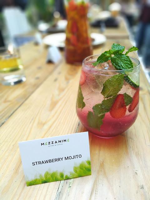 segernya strawberry mojito Mezzanine Jogja