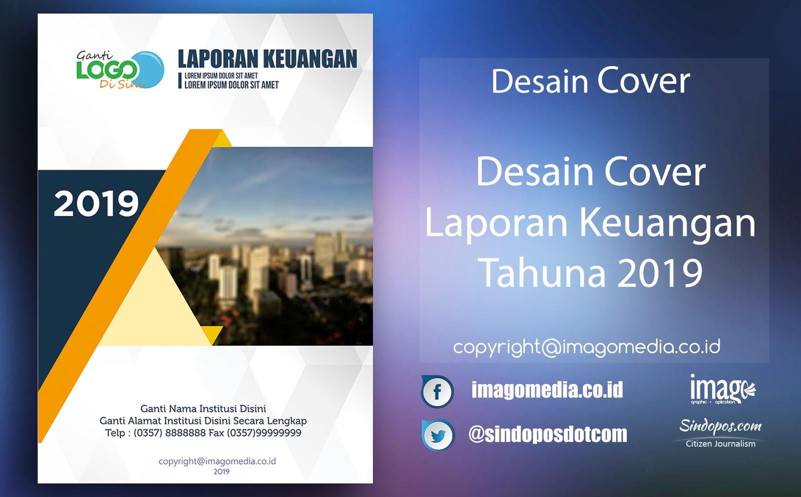 Download Desain Keren Cover Laporan Keuangan Tahunan 2019