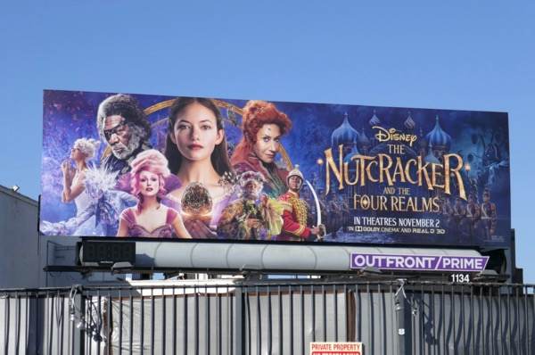 Nutcracker Four Realms billboard
