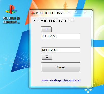 Ps3 Title ID Converter v1 0 2018 | PS4 | Nintendo Switch CFW