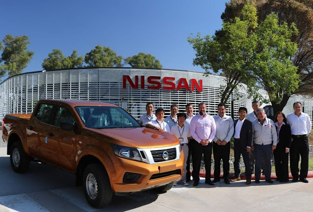 Nissan Frontier 2019 - produzida na Argentina