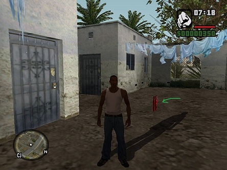 GTA san adreas mod 2 player suport save dan mod