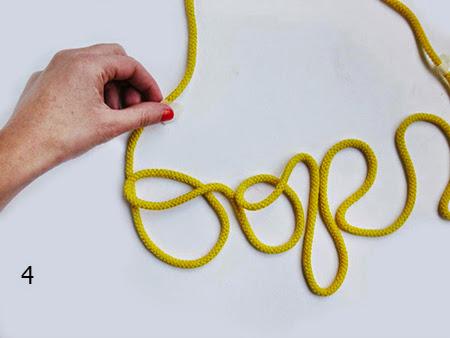 palabras, cuerdas, manualidades, diys, decoración