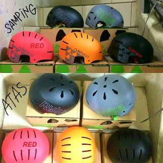Helm Sepeda Nuke Head Batok