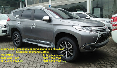 all new pajero sport dakar gray tahun 2019