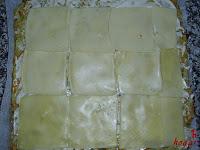 Cubriendo con queso