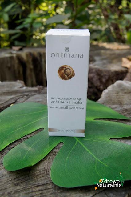 Orientana - Naturalny krem do rąk ze śluzem ślimaka