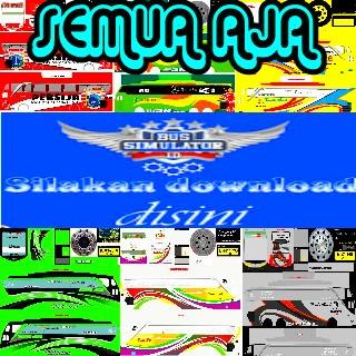 Download Kumpulan Livery Bus Simulator Indonesia dari Berbagai Sumber