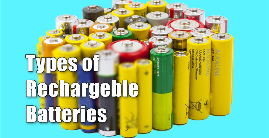 types of rechargeablebatteries