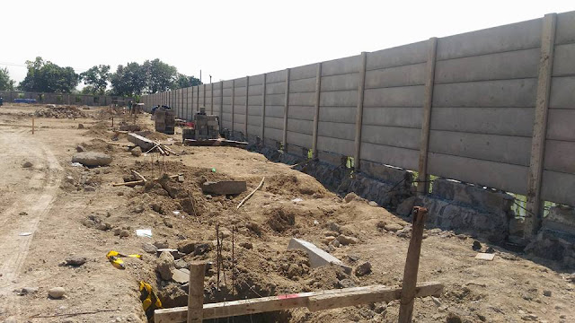pagar beton solo k225