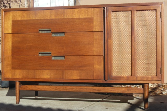 American Of Martinsville Credenza Mid Century Modern Sold