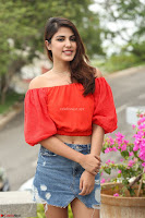 Rhea Chakraborty in Red Crop Top and Denim Shorts Spicy Pics ~  Exclusive 088.JPG