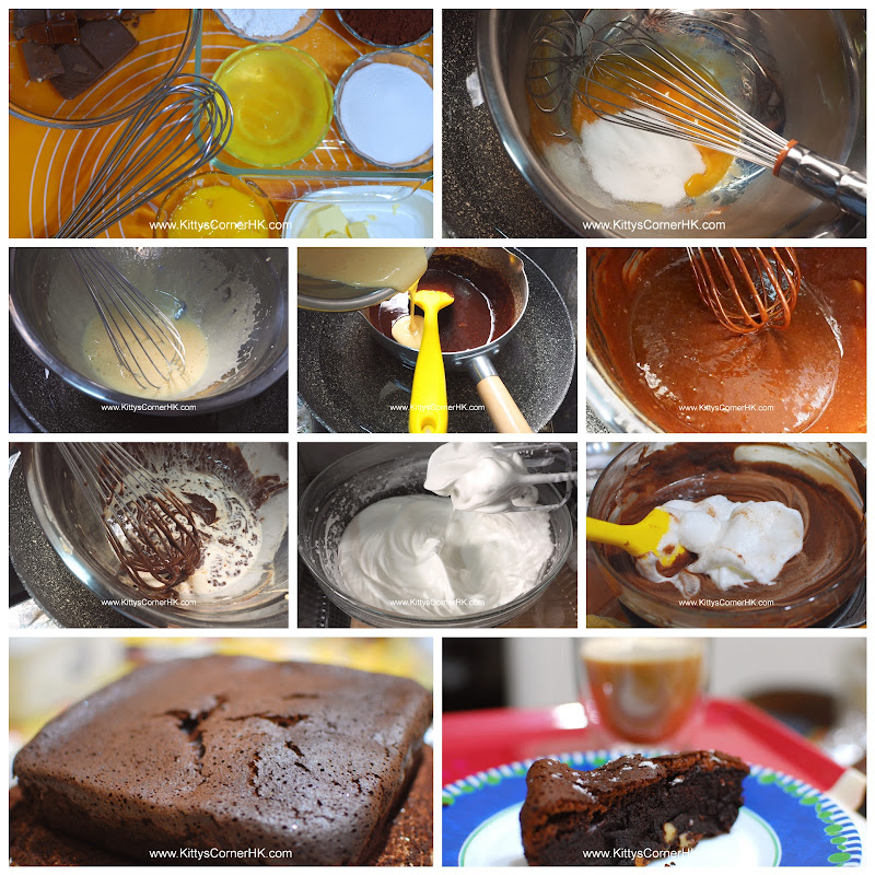 French Chocolate Cake DIY recipe 法式濃情 自家烘焙食譜