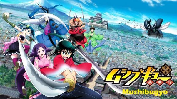 Mushibugyou - Daftar Anime Martial Arts Terbaik dan Terpopuler