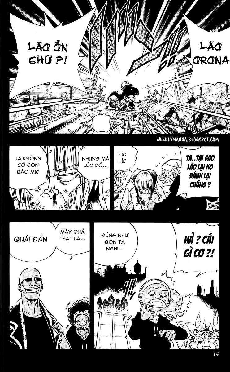 Shaman King [Vua pháp thuật] chap 117 trang 13