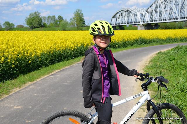 Małopolska z dziećmi- Wiślana Trasa Rowerowa z Krakowa do Niepołomic