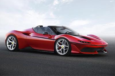 Ferrari J50 (2017) Front Side