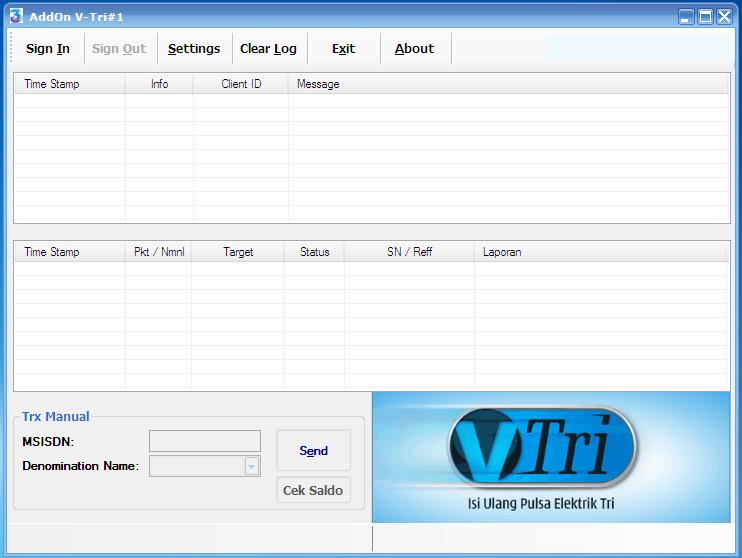 AddOn V-Tri Web All Software Pulsa ~ putr45hop - Jual ...