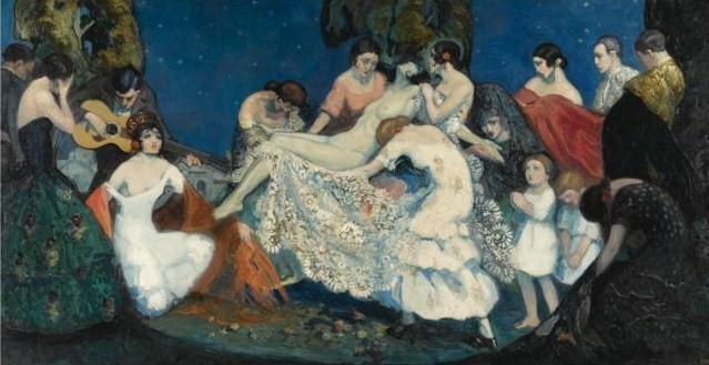 Federico Beltrán Masses-1885-1949   pintor español   Belle Époque