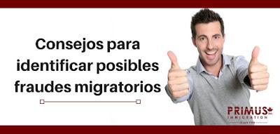 Primus Immigration: Consejos para identificar posibles fraudes migratorios