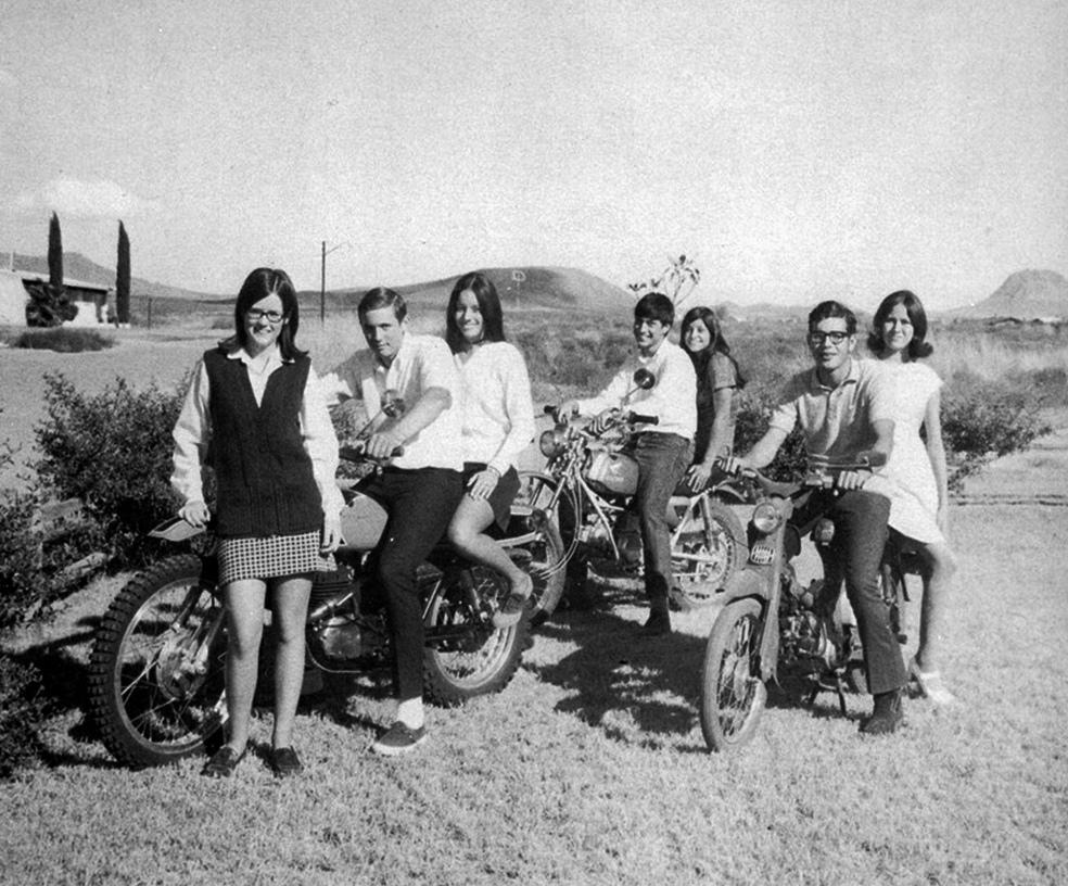 Vintage Photos Of Girls In Mini Skirts On Bikes Vintage