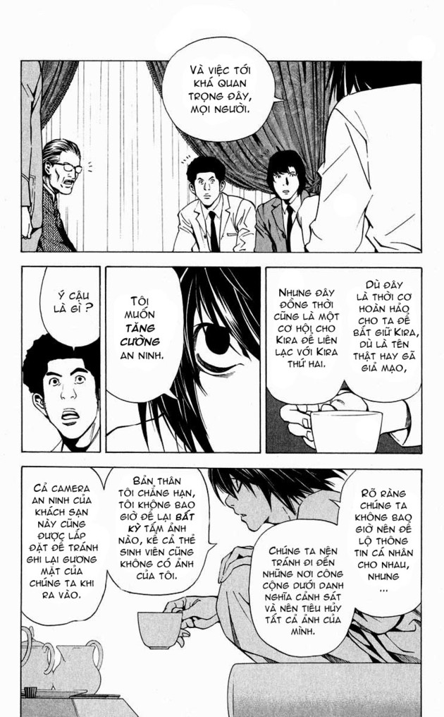 Death Note chapter 028 trang 12