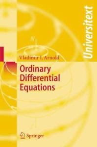 ORDINARY DIFFERENTIAL EQUATIONS 3RD EDITION BY VLADIMIR  I.ARNOL'D