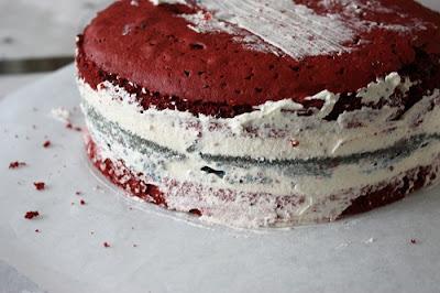 17. maikake, 17. mai fløyelskake, kake med ostekrem, Lizas matverden