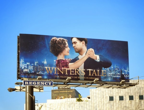 Winter's Tale movie billboard