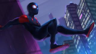 Spider-Man Into The Spider Verse Wii U Background
