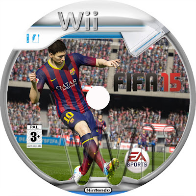 Label Fifa 15 Wii