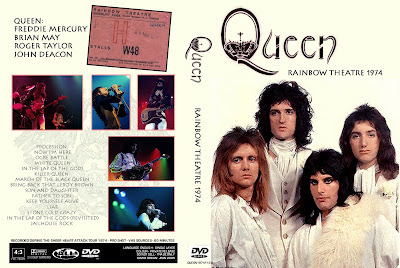 Queen Live At The Rainbow 1974 (Video)
