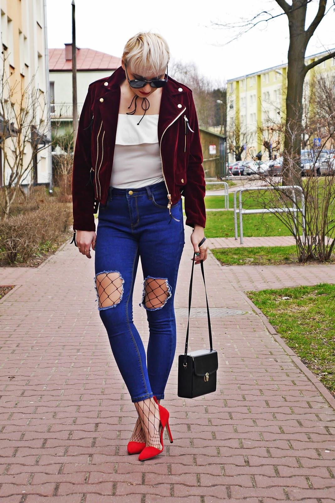 czerwone_szpilki_welurowa_ramoneska_karyn_blog_look-ootd_300317