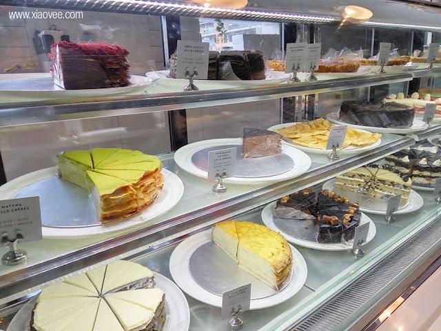 Lareia Cake & Co, Lareia Ciputra World, Lareia Cake Surabaya, Lareia Surabaya, Lareia Review, Lareia Mille Crepes, Mille Crepes Surabaya Review