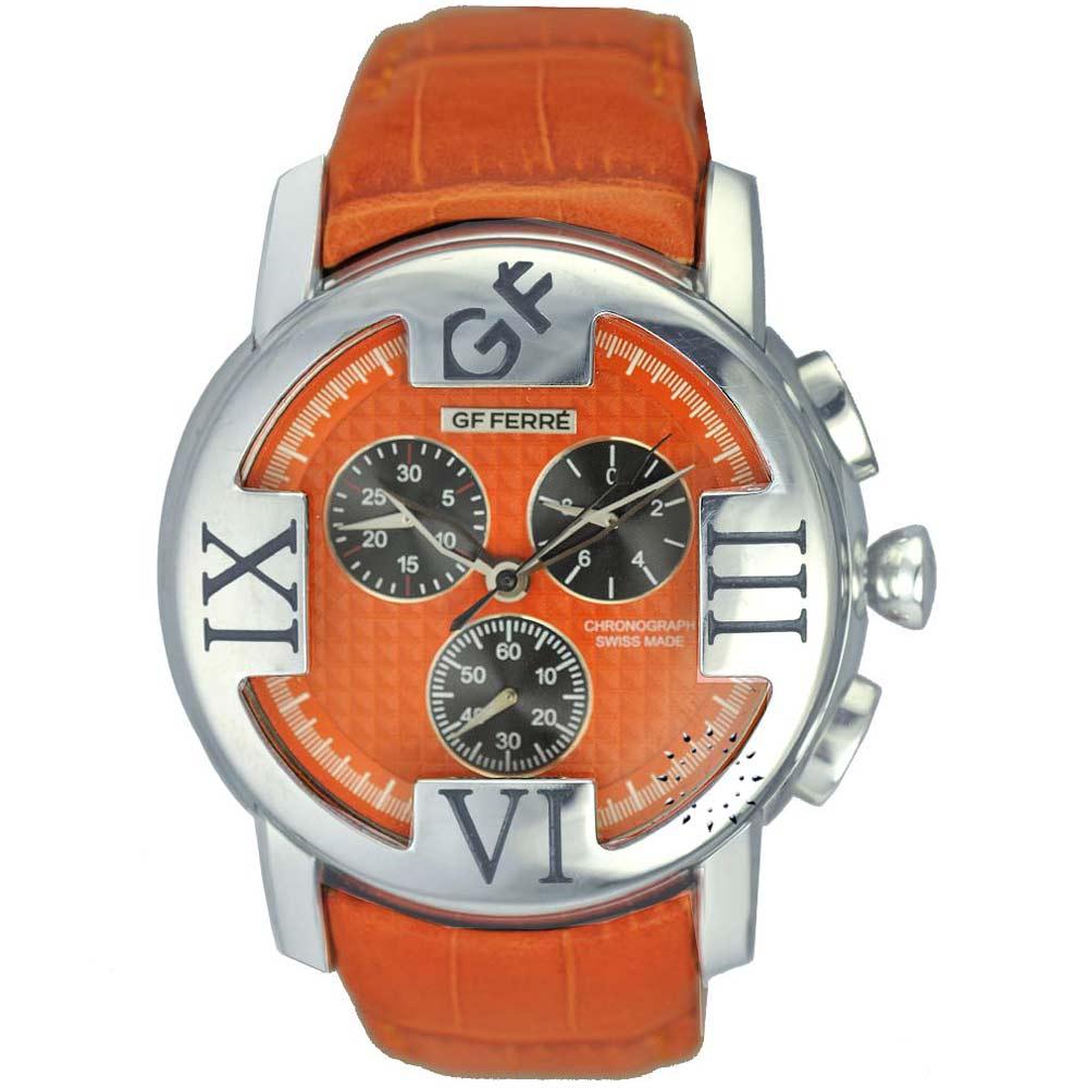 GF FERRE Orange Leather Strap ebf64ab1056
