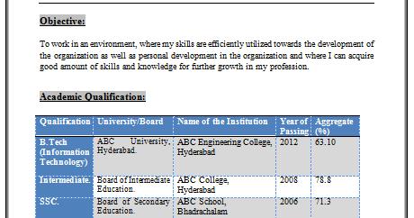 download free resumes naukri bpo resume sample for fresher naukri