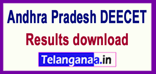 AP Andhra Pradesh DEECET Results download
