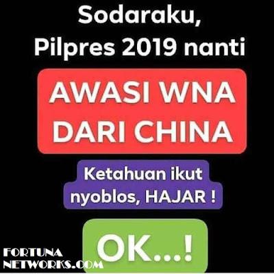"<img src=""#2019PrabowoPresidenIndonesia.jpg"" alt="" #INAelectionObserverSOS;""Crazy Paper Narrative"" from Kuala Lumpur,Malaysia "">"