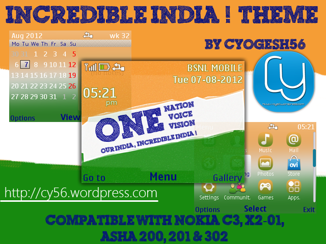 The Cleanest Themes for Nokia C3-00, Asha 200, Asha 201