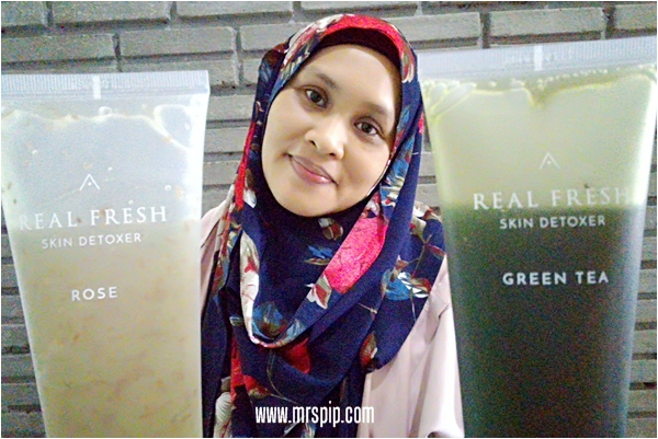 Review Althea Real Fresh Skin Detoxer Rose & Green Tea